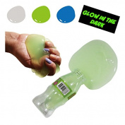 Glow In The Dark Big Bottle Slime Liquid Jelly Soft Squeeze Pudding Toy 1pcs