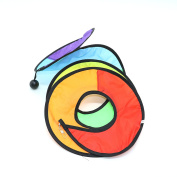 IDS Camping Tent Foldable Rainbow Spiral Windmill Wind Spinner