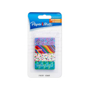 Paper Mate Expressions Decorated Erasers, 4 Count