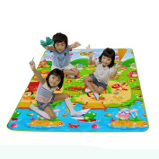Vibola 1pcs Baby Kids Toddler Crawl Play Game Picnic Carpet Beach Electronic Game Blanket Random Colour