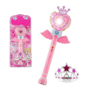 Flash Magic Fairy Sticks Lovely Flash Fairy Sticks Girls Toy-Pink