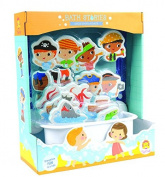 Once Upon a Pirate Bath Stories Set - Bath Toy by Schylling