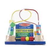 First Bead Maze - Melissa & Doug -Developmental Toy - We have added the K's Kids Cloth Book Peekaboo