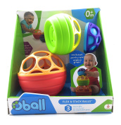 Oball 3 Flex and Stack Balls
