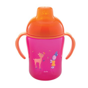 Dodie Training Cup 300ml 12 Months and + - Colour : Pink