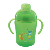 Dodie Training Cup 300ml 12 Months and + - Colour : Green