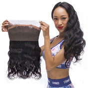 Body Wave 360 Lace Frontal Closure 8A Brazilian Virgin Hair Full Frontal Lace Closure With Baby Hair 360 Frontal
