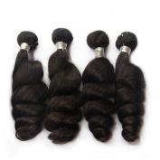 Nami Hair Brazilian Virgin Hair Loose Wave 4 Bundles Hair Extensions 100% Human Hair Weave Bundles