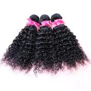 Nami Hair 3 Bundles Brazilian Curly Weave Remy Hair 100% Human Hair Natural Colour Hair Weaving Extensions