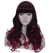 60cm Wig Long Big Wavy Hair Women Cosplay Party Costume Wig