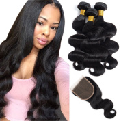 Brazilian Body Wave Virgin Hair 3 Bundles 100% Unprocessed Remy Human Hair Weave Weft Extensions Natural Colour 300g by Originea
