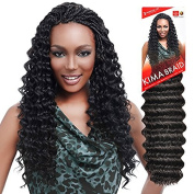 Harlem125 Synthetic Crochet Hair Kima Braid - RIPPLE DEEP 50cm