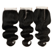 Brazilian Virgin Hair Body Wave 4X4 Lace Closure 100% Unprocessed Remy Human Hair Natural Colour Can be Dyed To all Colour