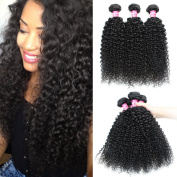 Angels Beauty Brazilian curly Bundles Unprocessed Human Virgin Hair Weave Extensions Nature Black Colour