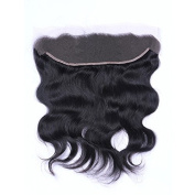 Miss diva Remy 6A Indian Hair Body Wave with Baby Hair Natural Colour 13x 4 Lace Frontal Human Hair Lightly Bleached knots