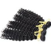 Nami Hair Deep Wave Brazilian Virgin Human Hair Weave Extensions 4 Bundles Brazilian Hair Weave Bundles