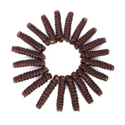 Synthetic Micro African American Crochet Hairstyle Black Afro Curly Twist Braiding Hair Tapered LookSaniya Curl^^^30