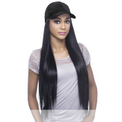 Vivica A. Fox - CAPDO-BLK - Heat Resistant Fibre Full Wig in OFF BLACK