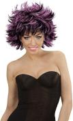 Sancto Black & Purple Ladies Steamy Wig