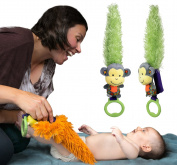 Yoee Baby Monkey - A Developmental Baby Toy That Helps Promote Interaction, Connexions and Bonding