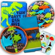 Dinosaur Party Supplies Value Set Dinosaurs Plates Napkins And More