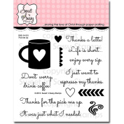 Sweet 'n Sassy Clear Stamps 10cm x 10cm Pick Me Up