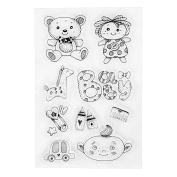 Cute Babies Design Clear Stamps for Scrapbooking DIY Decoration Card Marking Crafts Supplies