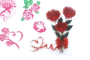 Rose Flower Series Clear Rubber Stamp For DIY Scrapbooking