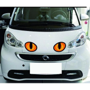 Outsta Fashion Car Sticker . 3DSimulation of the Cat's eyes personalised Stickers