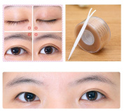 Outsta 300 Pairs Lace Eye Lift Strips Double Eyelid Tape Adhesive Stickers Makeup Tool