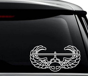 US Army Air Assault Decal Sticker For Use On Laptop, Helmet, Car, Truck, Motorcycle, Windows, Bumper, Wall, and Decor Size- [6 inch] / [15 cm] Wide / Colour- Gloss Black