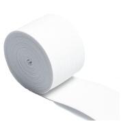 RERIVER 5.1cm Wide White Heavy Knit Stretch ELASTIC 5 Yards