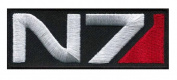 N7 Mass Effect Tactical Morale 3.5 Hook Patch by Miltacusa