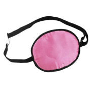 Adult Kids Amblyopia Strabismus Lazy Eye Adjustable Soft Pirate Eye Patch Single Eye Mask (Kids) ,j