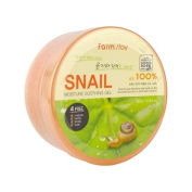 Farm Stay Snail Moisture Soothing Gel 300ml /Snail extract 100%/Skin Glowing & Elasticity Up