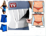 Effective Sauna Waist Trimmer & Weight Loss Belt, Lower Back & Ab Support, Tummy Tuck Slimming System, Lumbar Pain Trainers for Women and Men, Best Stomach Contour Shaper for Any Exercise or Workout, Belly Burner and
