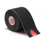 5M Sport Muscle Care Stretch Elastic Physio Therapeutic Sticker Tape Black