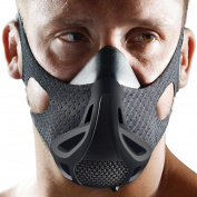 Opard Workout Mask 4 Level Altitude Mens Oxygen Elevation Simulating Training for Breathing Running, Jogging