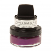 Cosmic Shimmer Metallic Gilding Polish - Dark Cherry