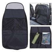 Gemini_mall® Kick Mats, Car Seat Back Protector, Organiser Pockets, Universal size,Heavy Duty Kick and Stain Protection