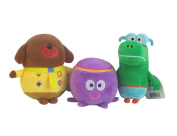 Hey Duggee Small Plush 18cm bundle with Betty Octopus and Happy Crocodile