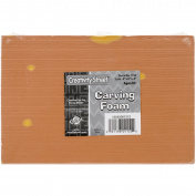 Carving Foam Blocks-23cm x 15cm X.13cm 2/Pkg