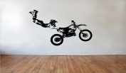 Motorcycle Wall Decals Moto Sport Stickers Dirt Bike Decal Decorative Design Ideas For Your Home or Office Wall Removable Vinyl Murals DB0137