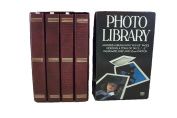 "MBI Photo Library 4 Padded Albums with ""Flip-Up"" pages holding a Total of 240 3.5"" x 5"" Instamatic, Disc and 35mm Photos"