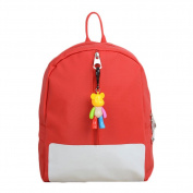 Children Coloured Violent Bear Backpack,Axier Best Gift for Toddlers,35cm ,Kids Trains, Planes and Trucks Sidekick Backpack