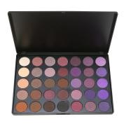 Eye Shadow Makeup Palette 35 Colour Nature Warm Colour, SEPROFE Matte Shimmer Neutral Tone Cosmetics Pallet, Pigment Violet/lilac/Plum Beauty Tool Kit, Bronzer & Highlighter Bases Primer