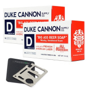 Duke Cannon Beer Soap Set with 11-function Multi-tool