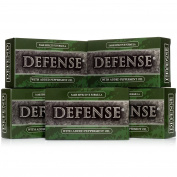 Defence Soap, Peppermint, 120ml Bar (Pack of 5) - 100 Percent Natural Pharmaceutical Grade Tea Tree Oil and Eucalyptus Oil