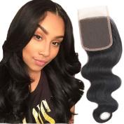 Mirra's Mirror Virgin Brazilian Human Hair Body Wave Lace Closure 25cm Free Part Closure 10cm x 10cm Lace Closure Body Wave Hair