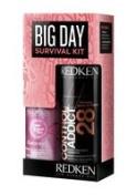 Redken Big Day Survival Kit, Control Addict 28 60ml, Diamond Oil 30ml
